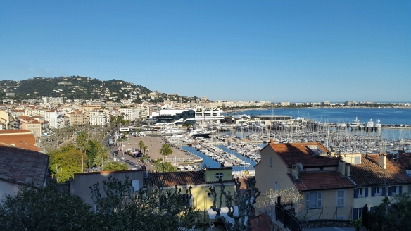 View of Cannes from the Old Town