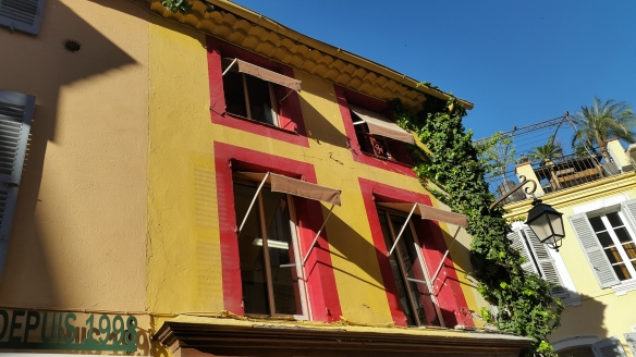 Colorful Buildings in Old Town