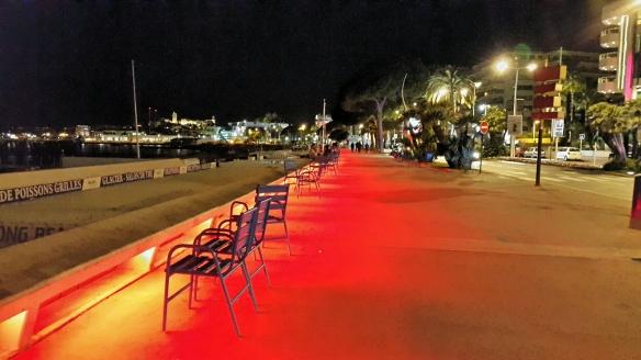 La Croisette at Night